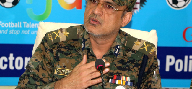 It's a routine exercise; nothing special: IG CRPF