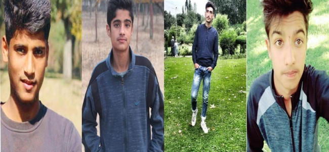 Sopore missing teenagers found in Banihal
