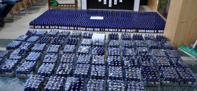 In a major breakthrough against drug menace, Police recovered thousands of Codeine...