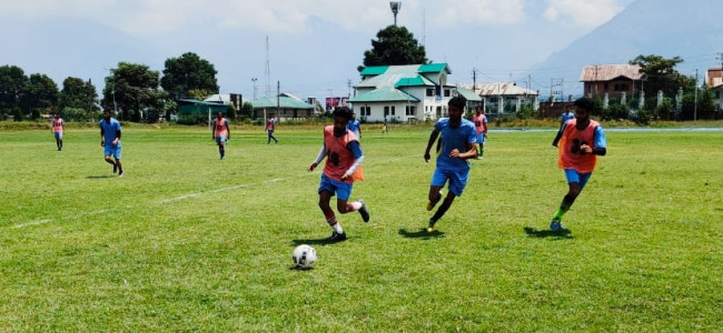 Inter-college Football Tourney: GDC Magam beat GDC Kangan in a thriller