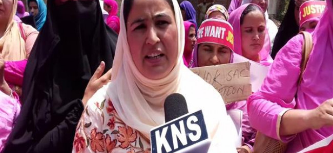 Anganwadi workers protest against SAC decision