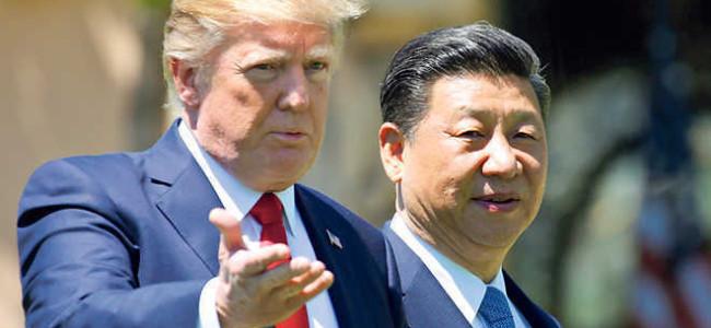 Trump warns China of substantial increase in import tariffs