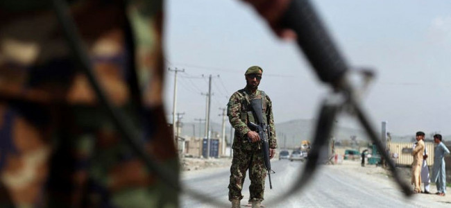 Afghan official: Taliban strike police checkpoint, kill 10