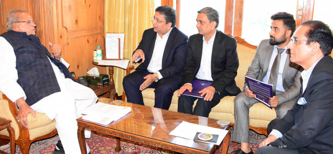 Delegation of Confederation of Indian Industry meets Governor