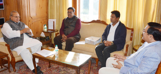 High Commissioner of Republic of Mauritius meets Governor