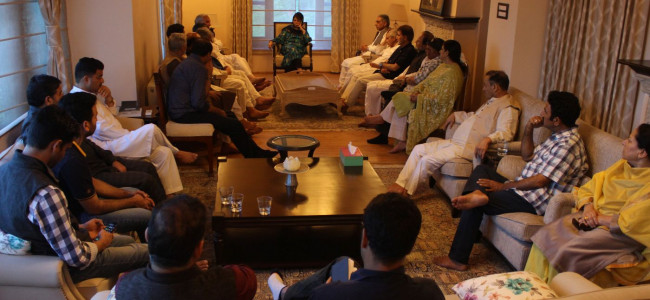 PDP appeals PM to not alter J&K's constitutional position