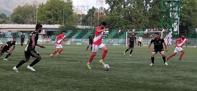 J&K Bank Academy defeat AG's XI 2:1
