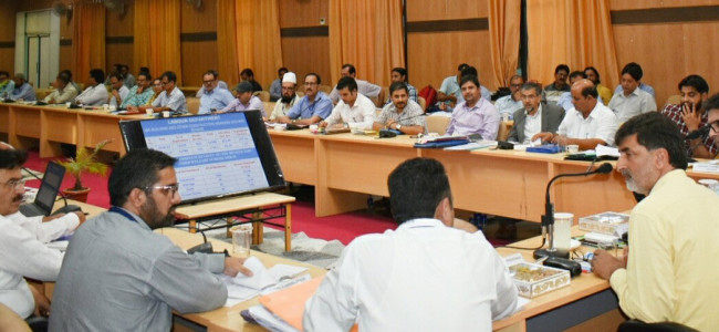 Secy Higher Education Dept reviews development scenario in Kishtwar district