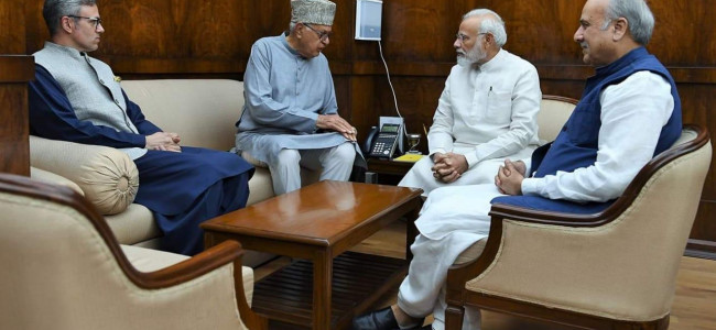 NC delegation meets PM, pitches for early polls