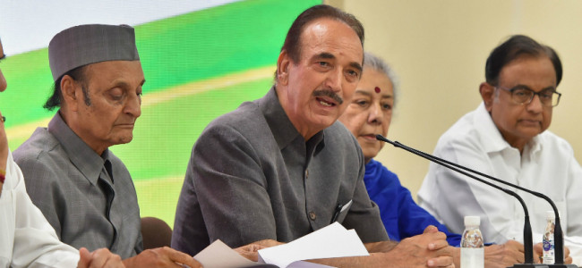 Cong warns against 'misadventure' in J&K, demands statement from PM in Parliament