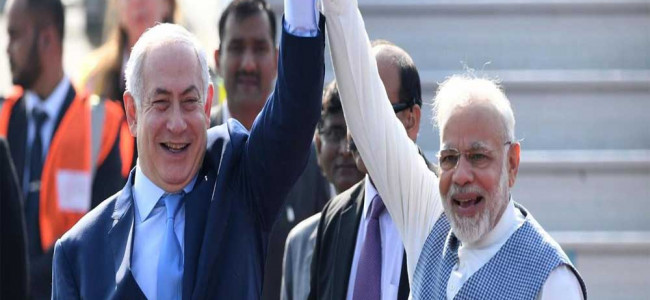 Israel greets India on friendship day with 'yeh dosti' song