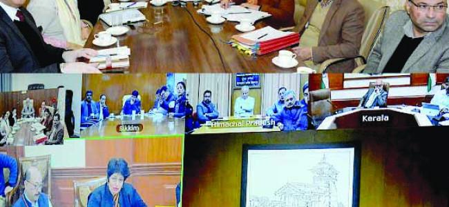 Cabinet Secretary reviews preparedness of States/UTs to deal with Coronavirus