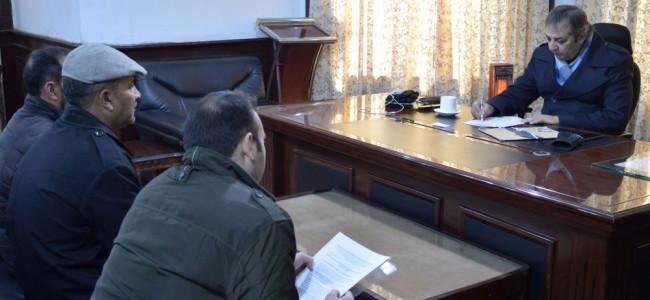 SSIA delegation calls on Div Com