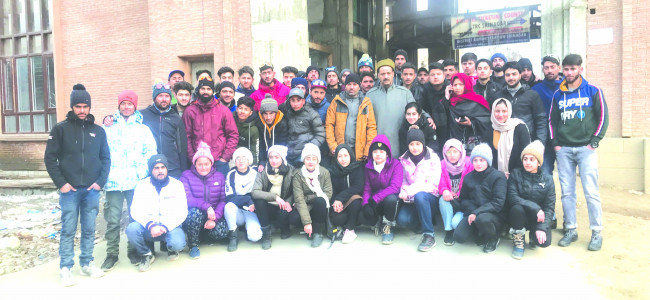 Auli Winter Games 2020 : President Winter Games Association Jammu and Kashmir (WGAJK)...