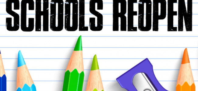 Schools to re-open on Monday, Feb 24