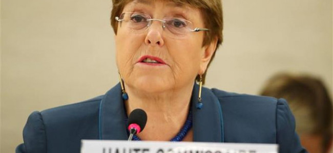 UN rights chief expresses 'great concern' over CAA, urges leaders to prevent violence