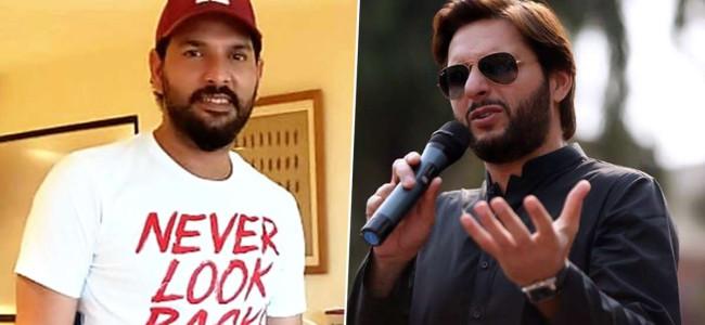 Yuvraj, Afridi bat for India-Pakistan bilateral cricket series