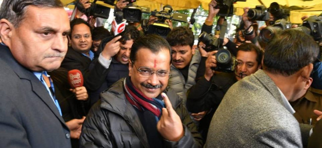 Battle for Capital: Exit polls predict AAP broom sweeping Delhi again