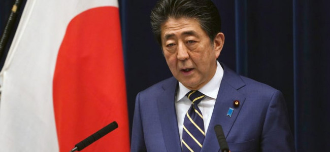 Japan PM Abe says country at critical stage