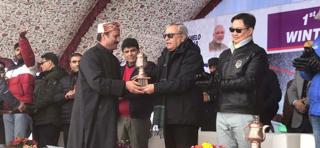 President Winter Games Association, J&K and former MLA Gulmar, Mohammad Abass Wani