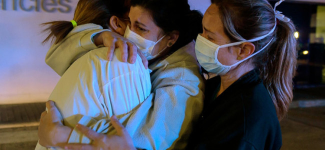 Spain announces record 838 virus deaths in 24 hours