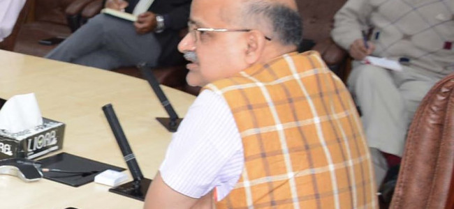 Chief Secretary reviews status of National Highway-44