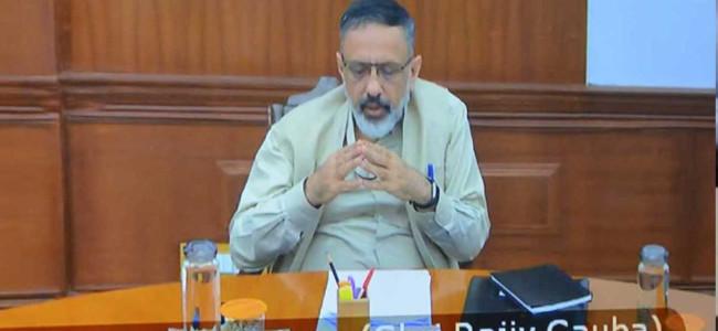 Cabinet Secretary reviews disbursement of relief package