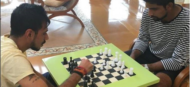 Chahal goes back to old passion, says chess taught him to be patient on cricket field