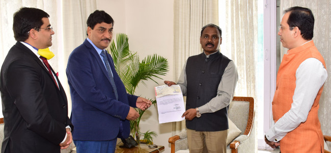 Excise dept donates Rs 2 cr towards J&K Relief Fund