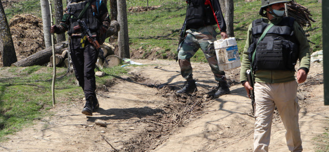 Four militants killed in Kulgam encounter