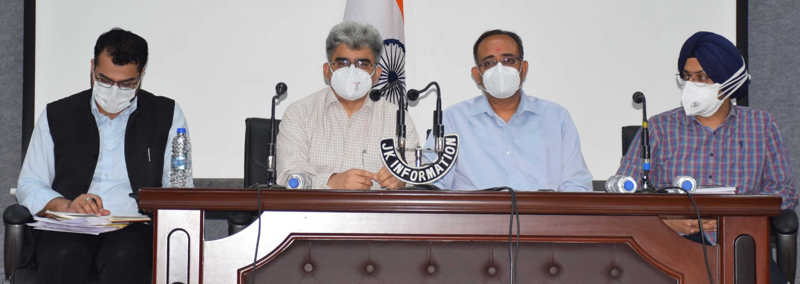 COVID situation in J&K challenging but not out of control: UT admin